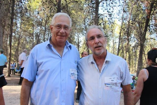 מפגש רעים יורם דורי ואיתן כהן