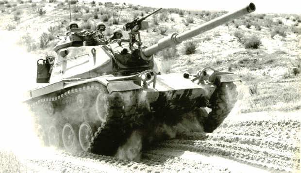 אימון הקמה של החטיבה- צאלים 1972
