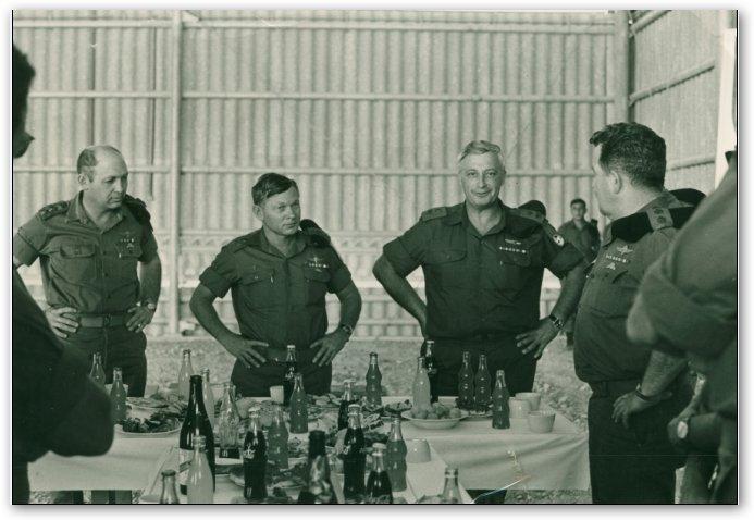 טקס העברת חטיבה 600 מגייסות השריון לפיקוד דרום להפעלה מבצעית.