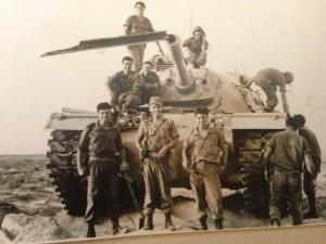 עם אבנר פליכס ז״ל גדוד 46 שנת 1968