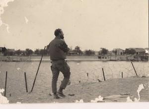 גדעון בסוף מלחמת ההתשה בקו התעלה באיסמעיליה.