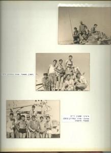 """בתמונה האמצעית , החיל משמאל אהוד גורדון ז""""ל"""