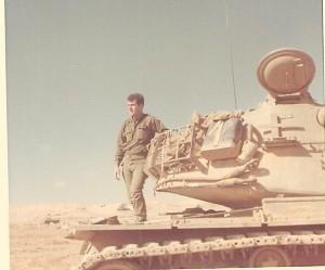 נובמבר 1969 בגדוד 79 בפלוגה ב' במחנה בביר גפגפה