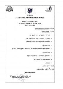 הזמנה לטקס חנוכת אנדרטה לאוגדה 143 26 6 18-1