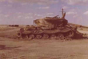 הטנק הפגוע